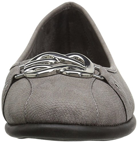 Women's Bet Ballet Grey Flat High Snake Aerosoles w4Edqp7p