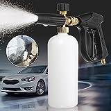 Autoleader 1L 200bar/3000 PSI Foam Lance Bottle Garden Irrigation Watering Tool High Pressure Car Washer Car Washing Clean Tools