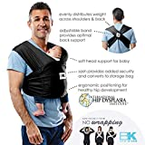 Baby K'tan Print Baby Wrap Carrier, Infant and