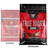 TRUE-MASS 1200, Chocolate Milkshake, 166 Ounce