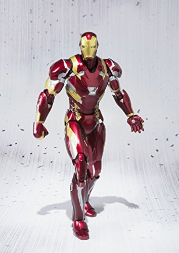 51MeyE8w9dL - S.H. Figuarts - Civil War - Iron Man Mark 46
