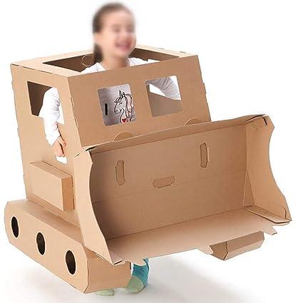 Amazon Com Cardboard Playhouse Cardboard Toy Diy Graffiti