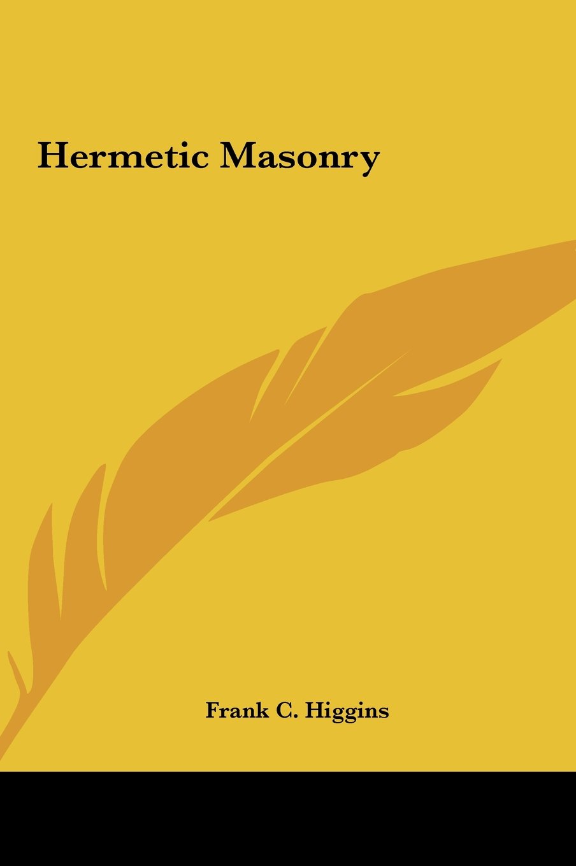 Download Hermetic Masonry pdf epub