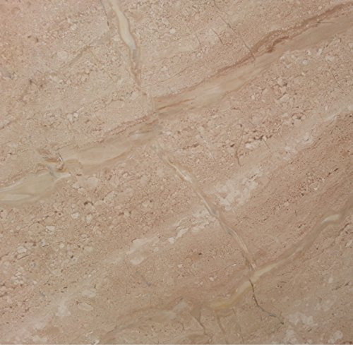 Floor or Bathroom Natural Stone Tile Marble Tile 12in x 12 in x 1 cm Mojave marble