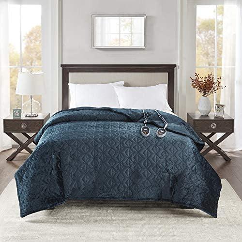 Beautyrest Plush Blanket Pinsonic Quilt Super Soft Electric Throw