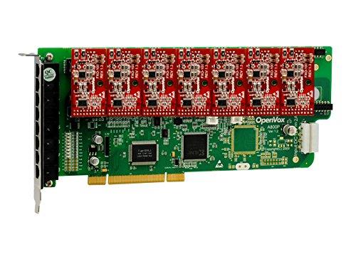 OpenVox A800P07 8 Port Analog PCI Base Card + 0 FXS + 7 FXO