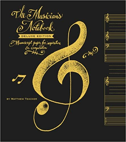 Book Musician's Notebook Deluxe Ed.