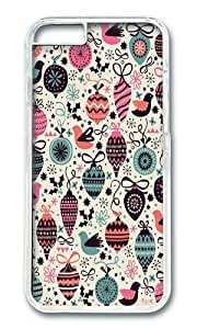 Apple Iphone 6 Case,WENJORS Awesome Birds and Baubles Hard Case Protective Shell Cell Phone Cover For Apple Iphone 6 (4.7 Inch) - PC Transparent