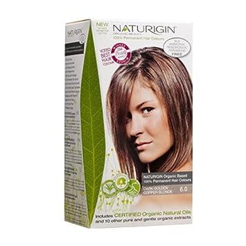 Amazon Com Naturigin Permanent Hair Color Dark Golden Copper