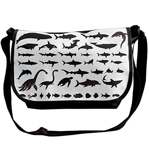 nisex Casual Messenger School Shoulder Bag Travel Crossbody Bag Sling Bag Wide Diagonal Bangalor Single Shoulder Bag (Giant Messenger Bag)