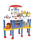 kitchen 67 hours Kitchen Playset for Toddlers Ages 3+ Who LOVE COOKING, 67-Piece Set Includes Pretend Food And Fun Kitchen Toys