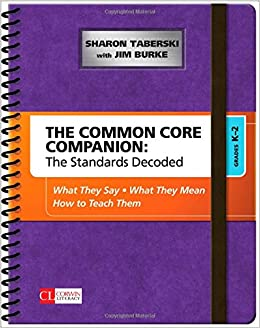 ??TXT?? The Common Core Companion: The Standards Decoded, Grades K-2: What They Say, What They Mean, How To Teach Them (Corwin Literacy). reunidos critica Brown first Reserva Mercado