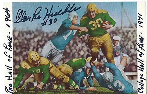 Clarke Hinkle Autographed Signed 3X5 Postcard PSA/DNA Hof Green Bay Packers from Sports Collectibles Online
