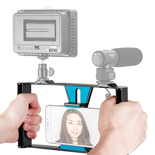 Neewer Smartphone Video Rig, Filmmaking Recording Vlogging R