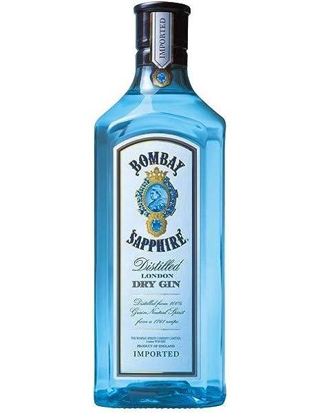 Bombay Sapphire Ginebra Premium - 1750 ml: Amazon.es ...
