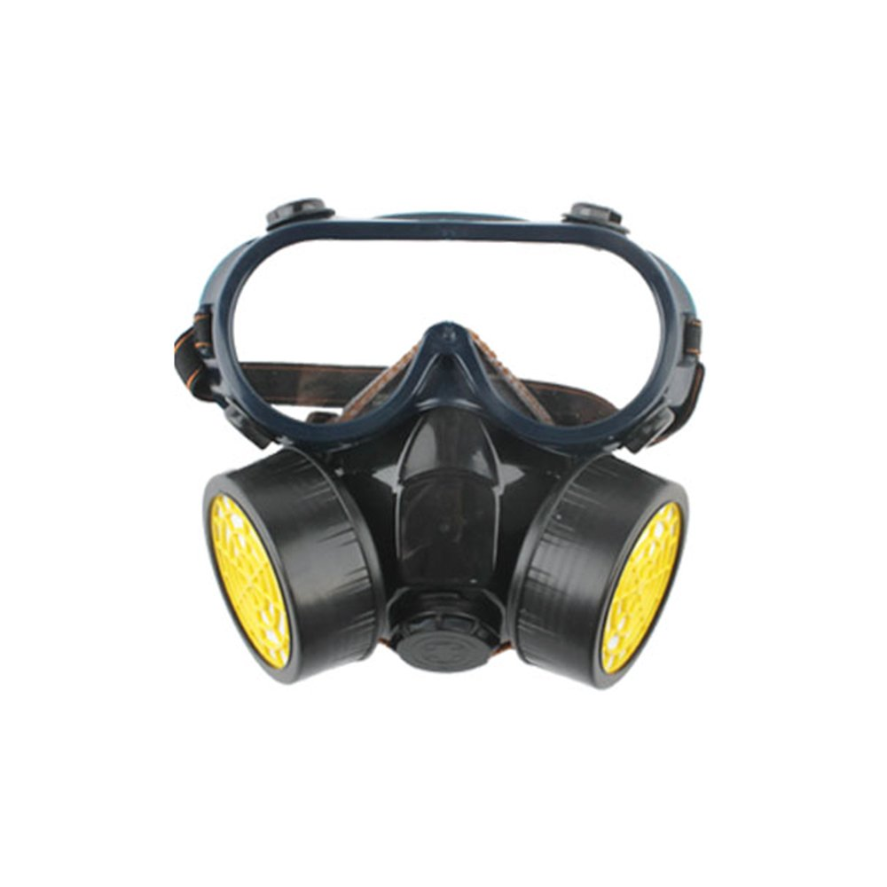 AIU Atemschutzmaske Doppeltank Gasmaske Anti-Staub- Formaldehyd / Lackierung