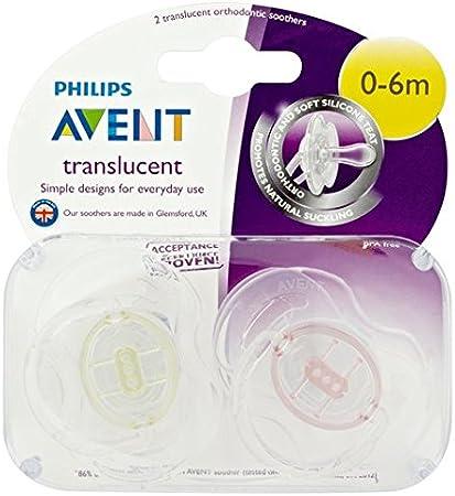 Philips Avent Chupete Translúcido 6-18m Niña