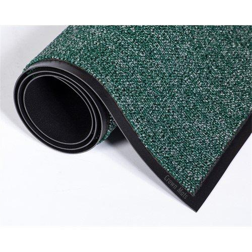 Ludlow Composites Fore-Runner Outdoor Scraper Mat, 4' x 6', Green, 1 Mat