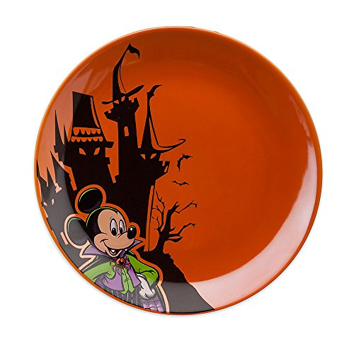 Disney Mickey Mouse Halloween Dessert Plate -