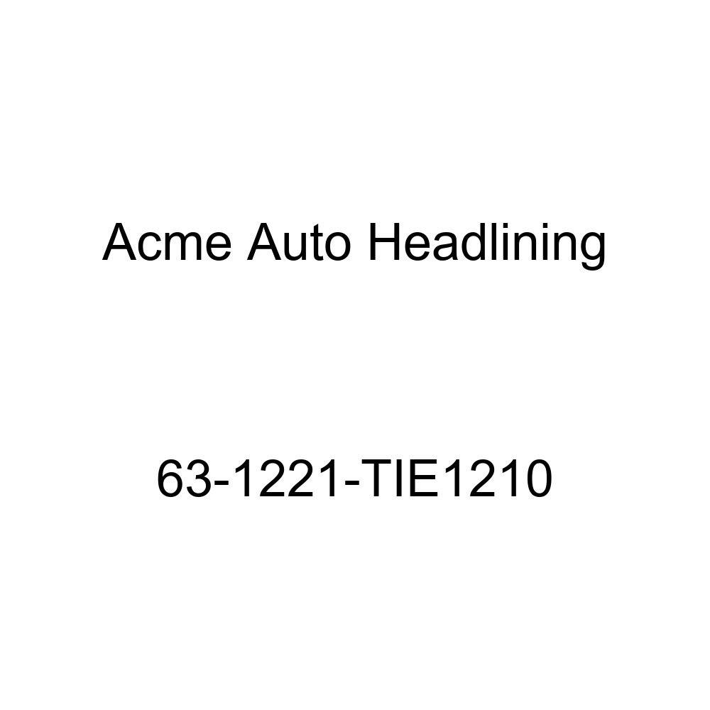 Oldsmobile Cutlass /& Jetfire 2 Door Coupe 5 Bow Acme Auto Headlining 63-1221-TIE1210 Maroon Replacement Headliner