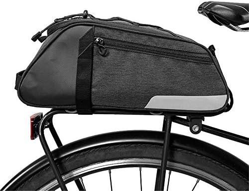 Bolsa para bicicleta con cremallera trasera 8L sillín ...