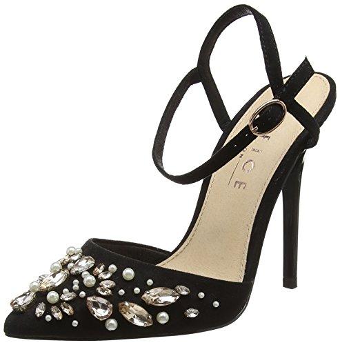 Scarpe Nero 10000 Caviglia con Black Donna Cinturino Horizon alla Office xw5za0q5P