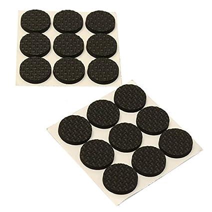 Lukzer Scratch Proof Self Adhesive Furniture Pads (Brown)/ Multi-Functional Self-Adhesive Pad/Floor Protector Furniture Pads/Furniture Table Sofa Leg pad