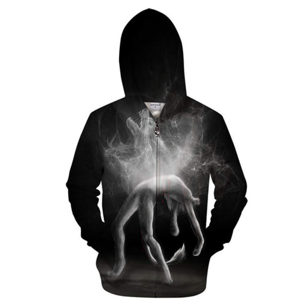 GUQIYA 3D Hoodies Sweatshirts Trainingsanzüge Streetwear Neuheit Pullover