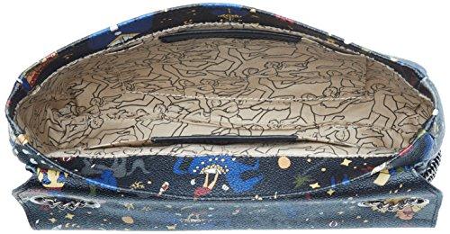 piero guidi 217934088, Borsa a Tracolla Donna, 27x17x5 cm (W x H x L) Nero (Nero Profondo)
