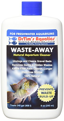 DrTim's Aquatics Waste-Away Natural Aquarium Cleaner for Freshwater 8-Ounce