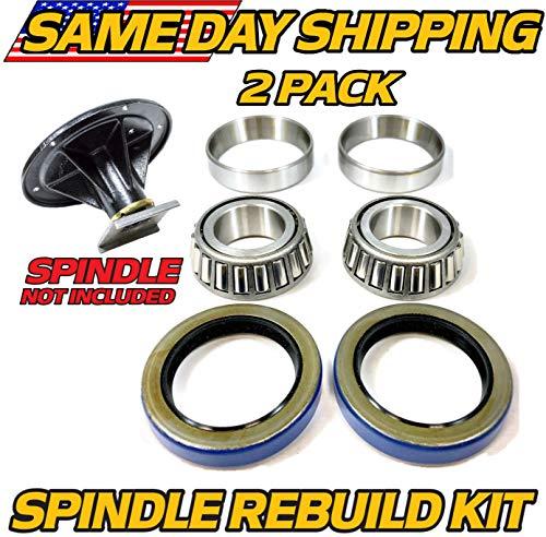- (1 Kit) Spindle Bearing & Seal Rebuild Toro Z Master 119-8599, 108-7713, 106-3217 - with Seals - HD Switch