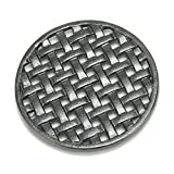 Minuteman International Round Cast Iron Lattice Trivet