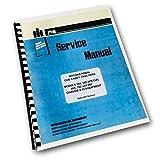 International Cub Cadet 582 Special 682 782 982 Tractor Service Repair Manual Ih