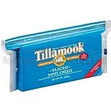 Tillamook Sliced Swiss Cheese, 2 Pound -- 12 per case.
