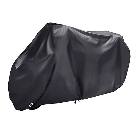 1a6507f6618 WZTO Funda para Moto 210D Funda Protector Cubierta de Moto Impermeable Anti  UV Cubierta Funda para Moto de Bloqueo Protector contra Lluvia y Polvo para  Moto ...