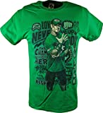 John Cena Graffiti Logo WWE Kids Boys Green T-Shirt-YS