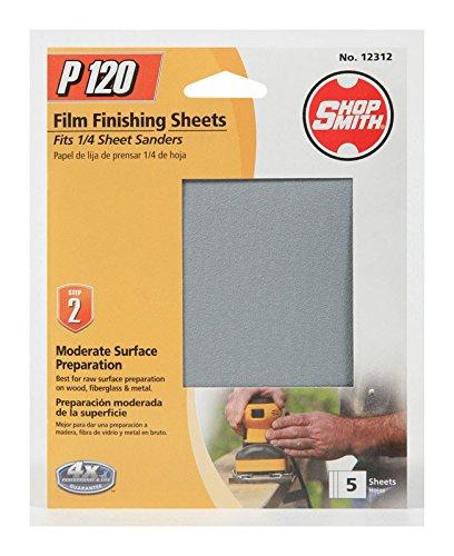 Sanding Sheet 120g 5pk
