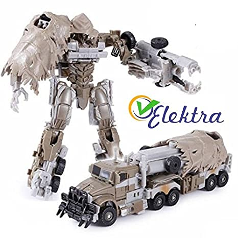 Buy Elektra Robot To Truck Converting Figure Toy Brown Online At