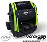 MVP Disc Sports Voyager Pro Backpack Disc Golf Bag - Lime