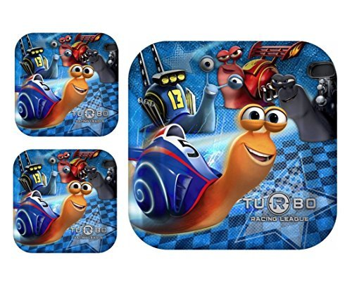 Turbo the Movie Lunch Plates for 24 - Banner Turbo