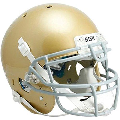 Notre Dame Replica Helmet - NCAA Notre Dame Fighting Irish Authentic XP Football Helmet