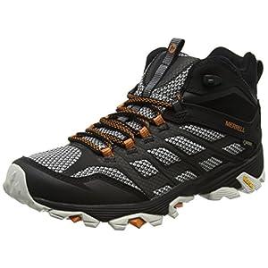 Merrell Moab FST Mid GTX Men's Walking Boots, Black, US11.5