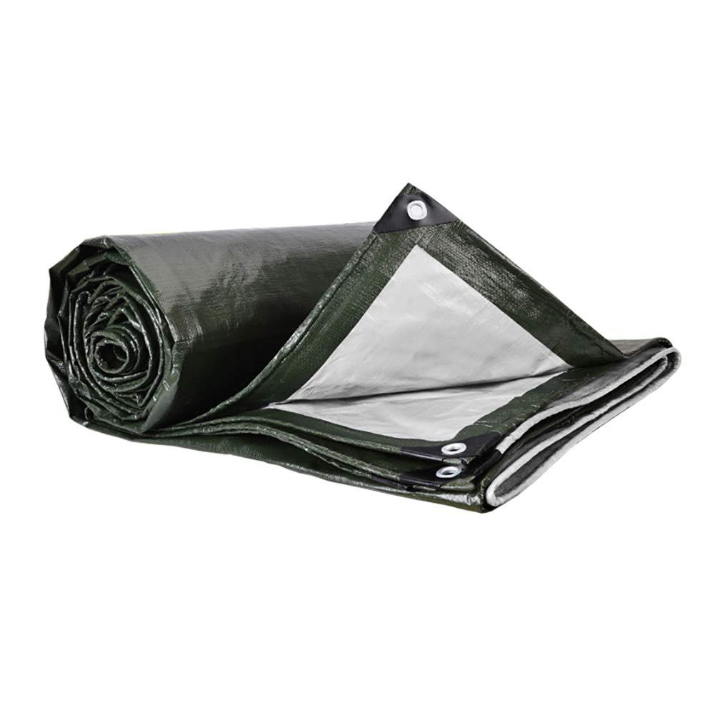 3MX4M BÂche LXF Imperméable Multicouche Tarps Couverture De Remorque De Tente Imperméable à l'eau Au Sol De Nombreuses Tailles portable Camping sac à dosing 180G   M² (Taille   3MX3M)