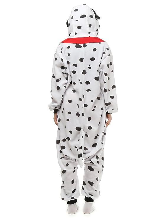 Amazon.com: Dalmatian Dog Adult Onesie. Animal Pajama Costume For Teenagers, Women, Men: Clothing