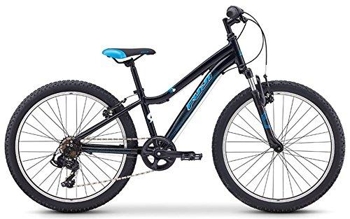 FUJI(フジ) DYNAMITE 24 7段変速 子供用自転車 19DY24BK24 BLACK/BLUE   B07G29KFP5