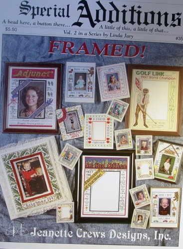 Special Additions: Framed, Vol #2, Framing with Cross Stitch Craft Book ()