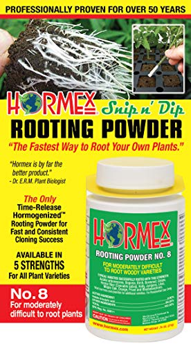 r #8 | for Difficult to Root Plants | Fastest IBA Rooting Powder Compound for Strong & Healthy Roots ()
