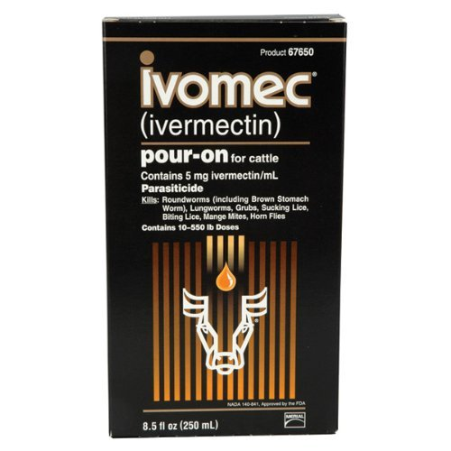 Animal Health International 250ml Ivomec Dewormer