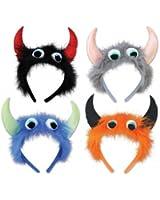 Beistle Company 00535 Monster Headbands - Pack of 12