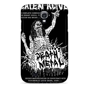 KevinCormack Samsung Galaxy S4 Perfect Hard Phone Covers Allow Personal Design Fashion Grave Band Skin [chw4871ZOOL]